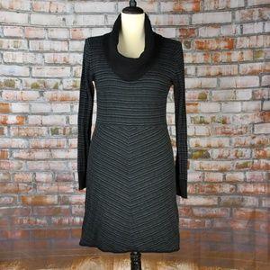 Prana Cowl Neck Knit Sweater Dress • Large